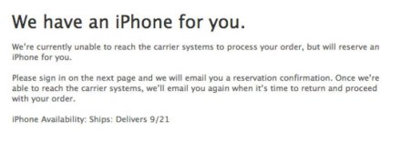 Preorder iPhone 5